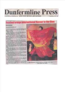 Fife Mela in Dunfermline Press