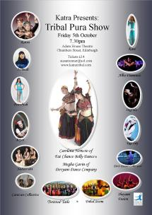 Tribal Pura Theatre Show poster