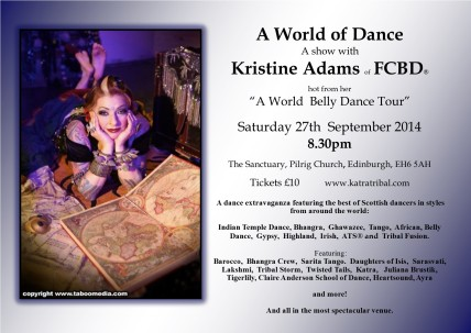 A World of Dance Flier