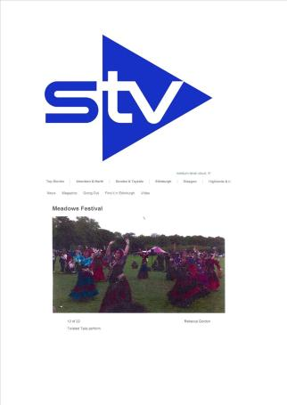 STV coverage of Meadows Festival