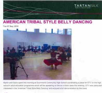 PR release on dance classes