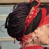 elaborate head scarves