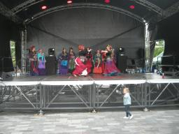 Castle Street Stage Edinburgh