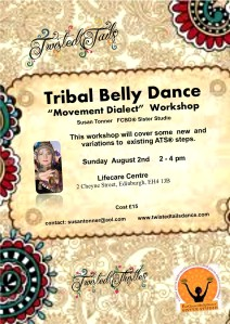 Tribal Workshop: Sunday August 2nd 2 - 4 pm