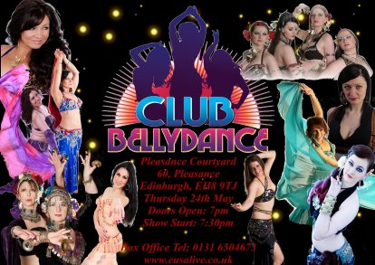 Club_Bellydance_Show_Flyers_Posters